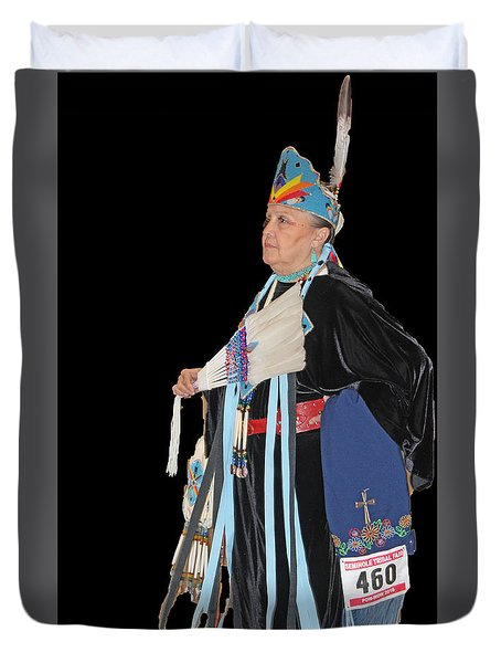 Elder Dancer Duvet Cover