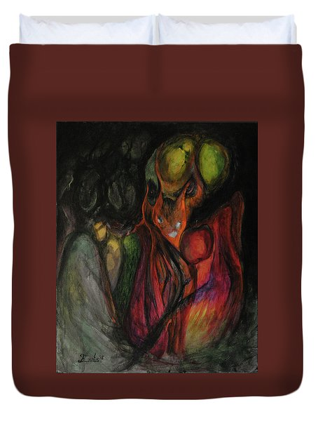 Elder Keepers Duvet Cover by Christophe Ennis