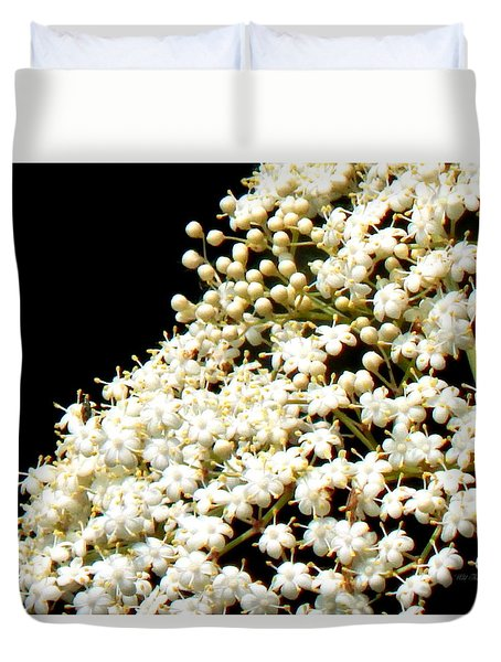 Elderflower Tree Duvet Cover