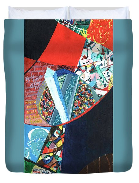 Election Of Outsiders 2016 Duvet Cover