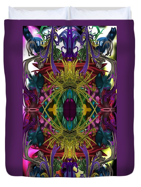 Electric Eye Duvet Cover