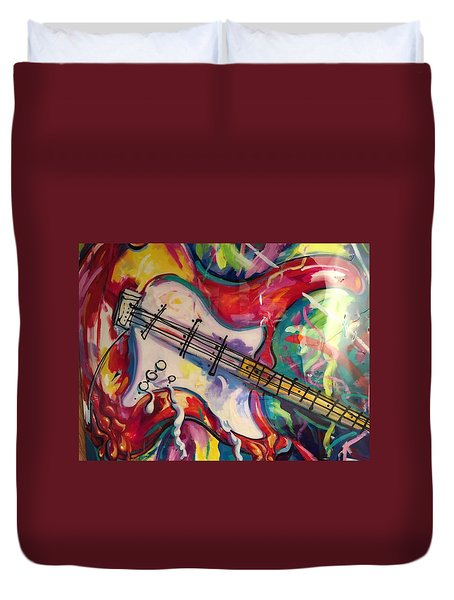 Electric Fusion  Duvet Cover