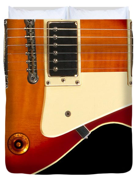 Electric Guitar 4 Duvet Cover by Mike McGlothlen