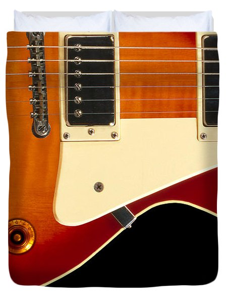 Electric Guitar 4 Duvet Cover