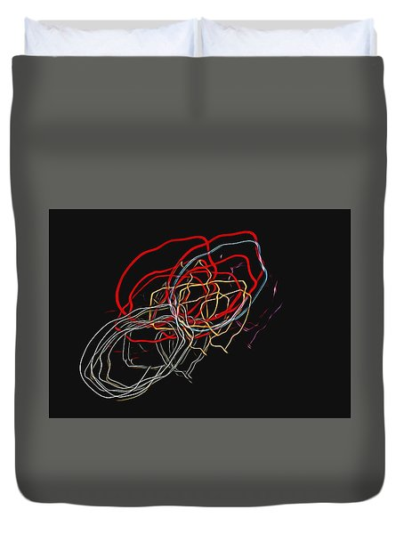 Electric Light Duvet Cover