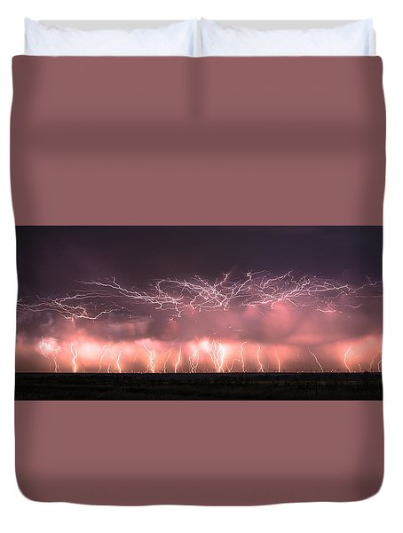 Electric Panoramic Duvet Cover