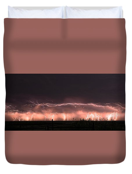 Electric Panoramic IIi Duvet Cover
