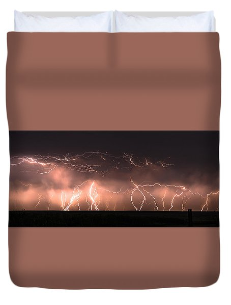 Electric Panoramic Iv Duvet Cover