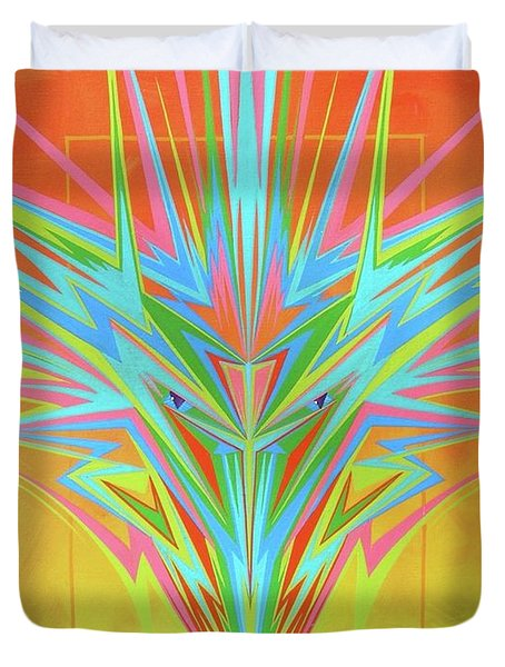 Electric Personality  Duvet Cover