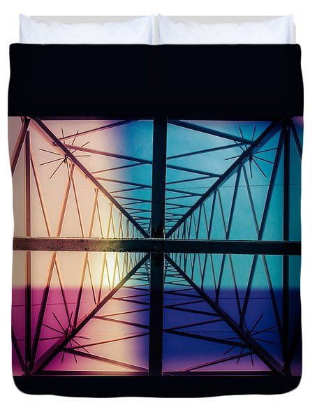 Electromagnetic Fields Duvet Cover