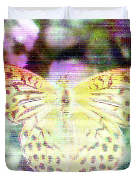 Electronic Wildlife  Duvet Cover