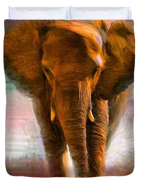 Elephant 1 Duvet Cover