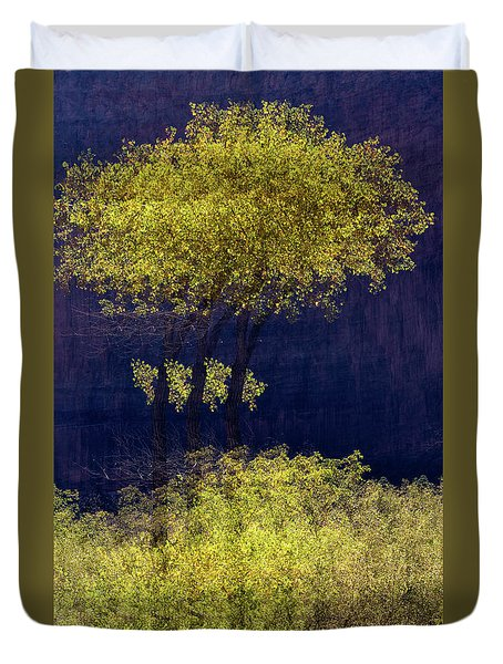 Elegance In The Park Horizontal Adventure Photography By Kaylyn Franks Duvet Cover