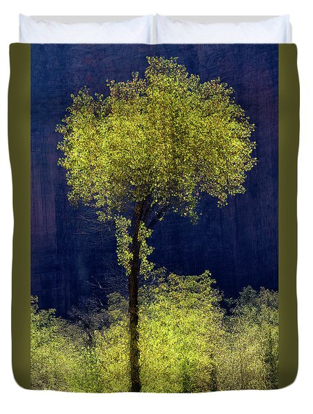 Elegance In The Park Vertical Adventure Photography By Kaylyn Franks Duvet Cover