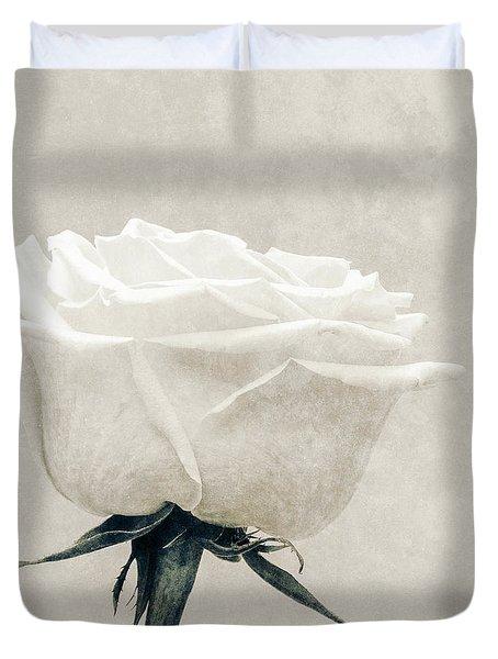 Elegance In White Duvet Cover