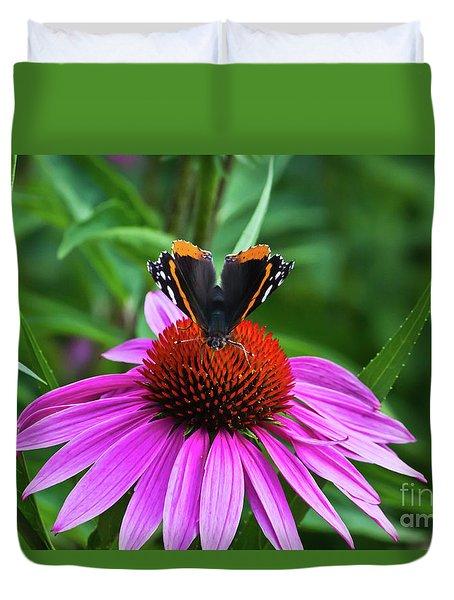Elegant Butterfly Duvet Cover