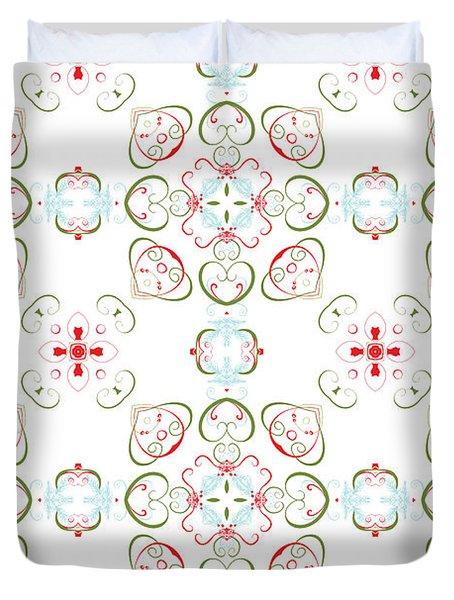 Elegant Christmas #02 Duvet Cover