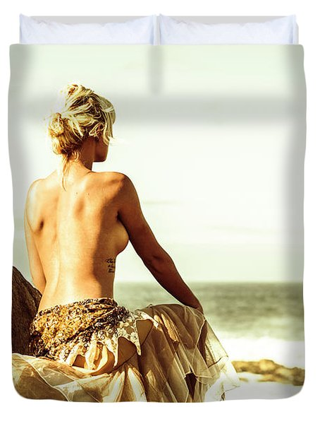 Elegant Classical Beauty  Duvet Cover