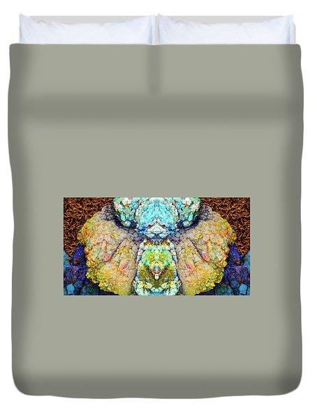 Elemental Being In Nature 1 Duvet Cover