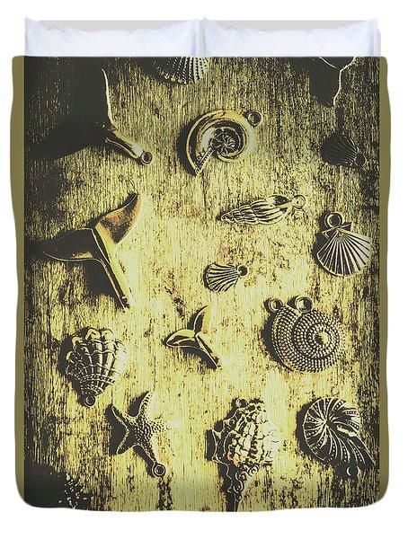 Elemental Marine Decorations Duvet Cover