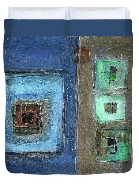 Elements Duvet Cover by Behzad Sohrabi
