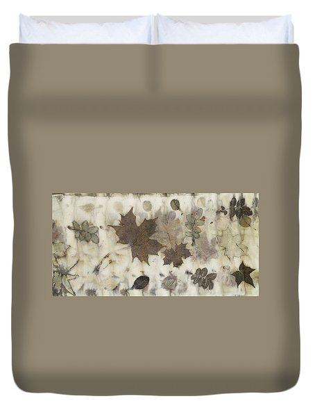 Elements Of Autumn Duvet Cover