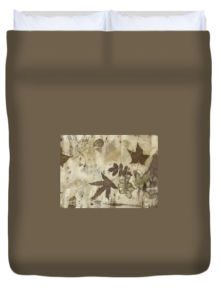elements of autumn II Duvet Cover