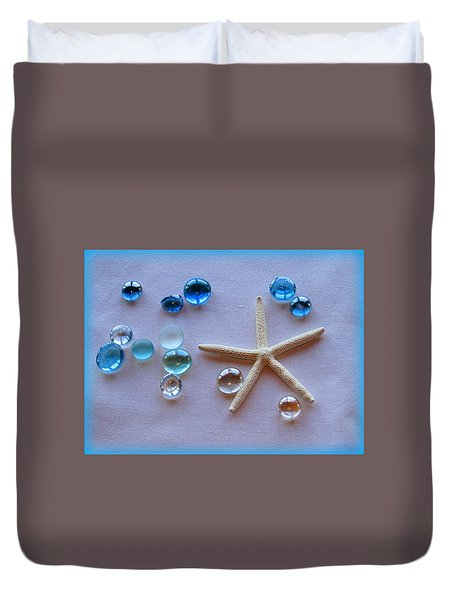 Elements Of The Sea Duvet Cover