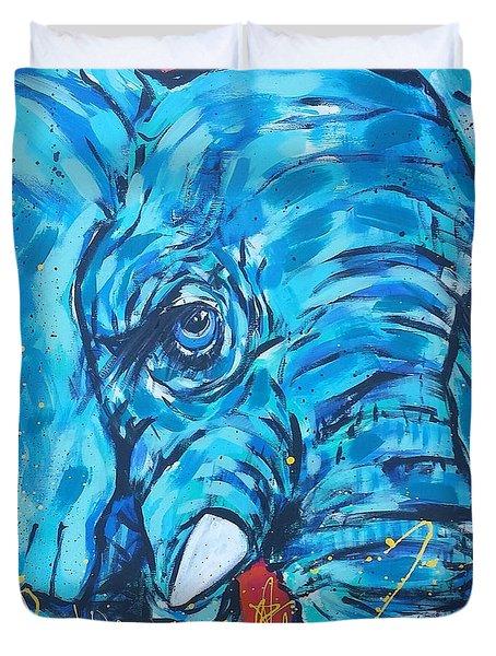 Elephant #3 Duvet Cover