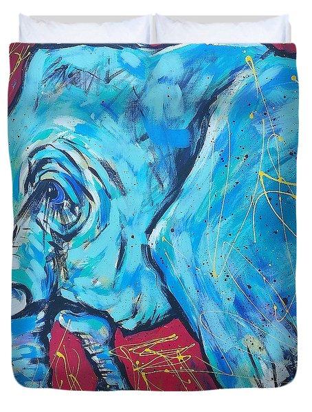 Elephant #4 Duvet Cover