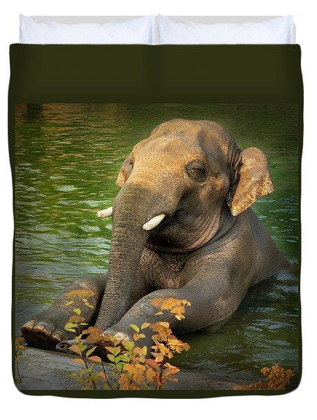 Elephant Cooler Duvet Cover
