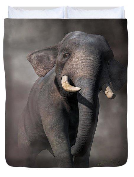 Elephant Duvet Cover by Daniel Eskridge