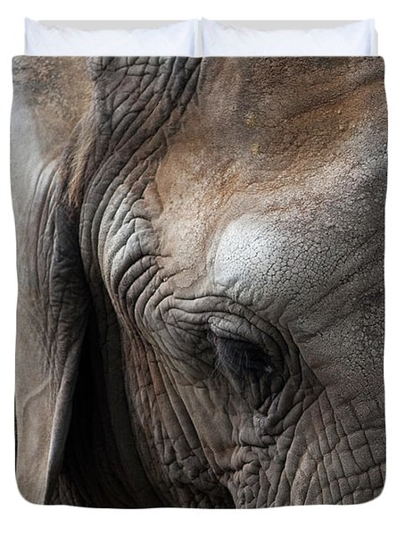 Elephant Eye Duvet Cover