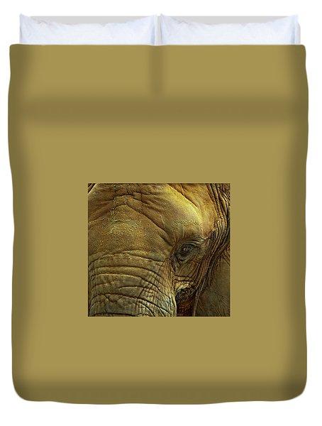 Elephant Eye Duvet Cover