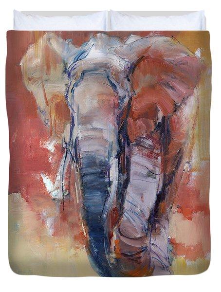 Elephant Final Duvet Cover