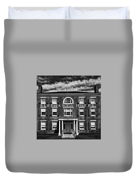 Elephant Hotel Duvet Cover
