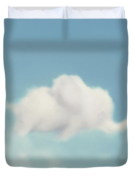 Duvet Cover featuring the photograph Elephant In The Sky - Square Format by Amy Tyler
