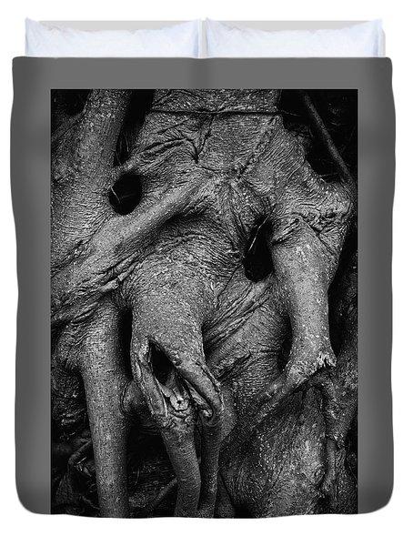 Elephant Man Tree Duvet Cover