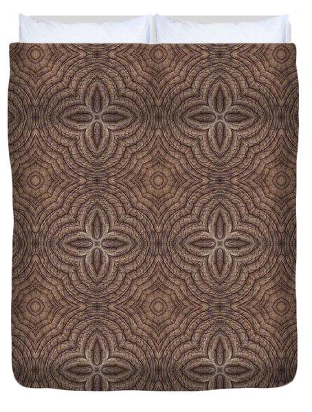 Elephant Quilt Duvet Cover by Maria Watt