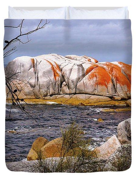 Elephant Rock - Bay Of Fires Duvet Cover
