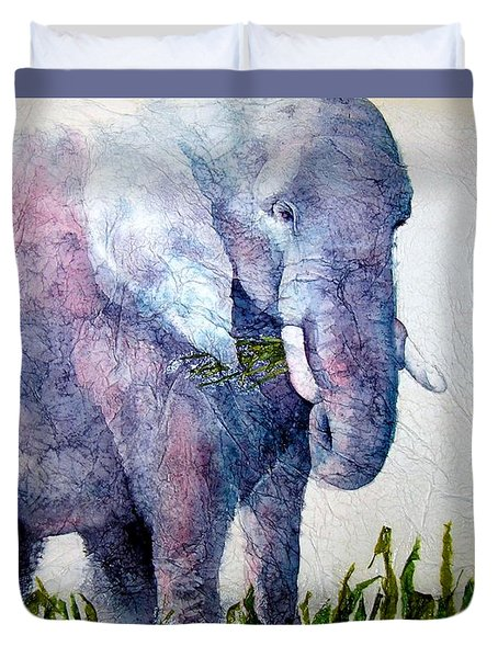 Elephant Sanctuary Duvet Cover