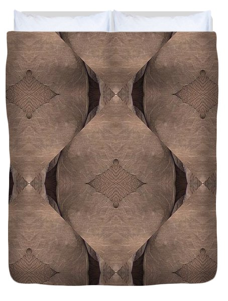 Elephant Skin Duvet Cover by Maria Watt