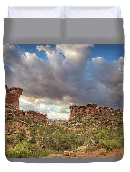 Elephant Sunrise Duvet Cover