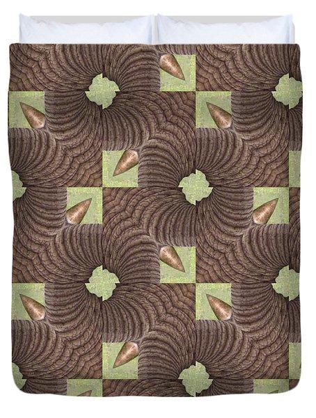 Elephant Trunk Duvet Cover by Maria Watt