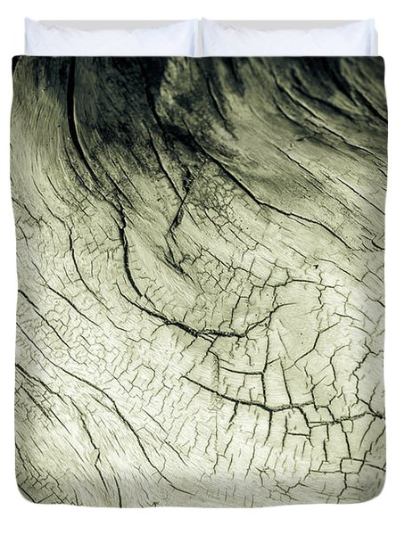Elephant Wood Of Memory Duvet Cover