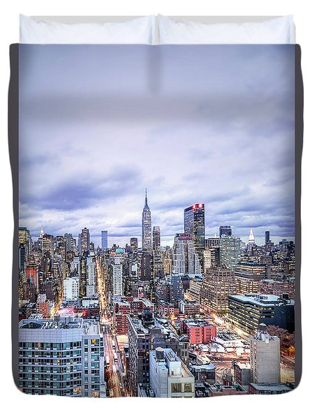 Elevate In Madness Duvet Cover