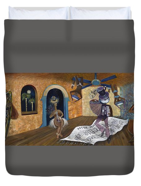 Eleven Minutes After Midnight Duvet Cover