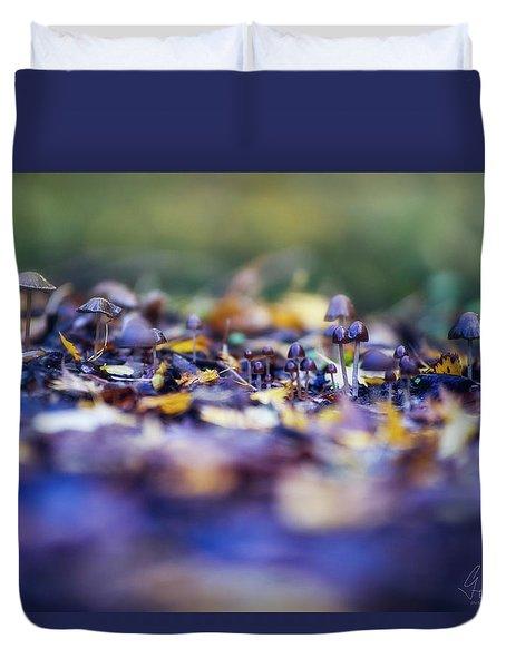 Elfin World Duvet Cover