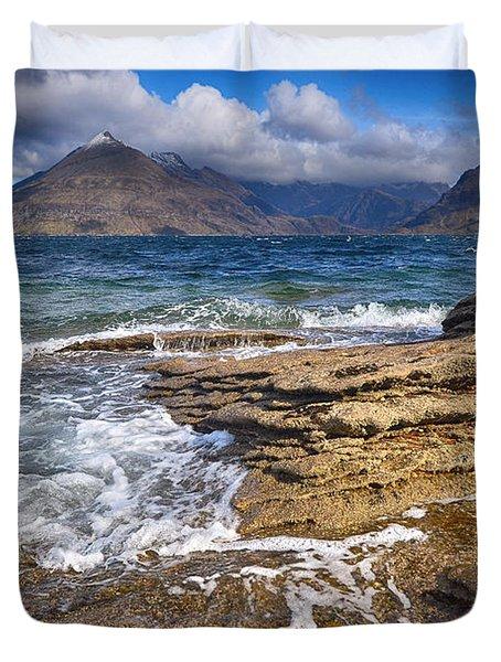 Elgol, Isle Of Skye Duvet Cover
