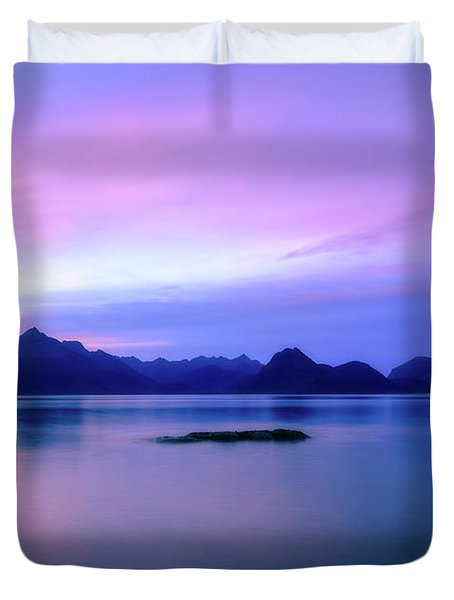 Elgol Sunset Duvet Cover